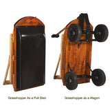 Grasshopper Convertible Wagon/Sled