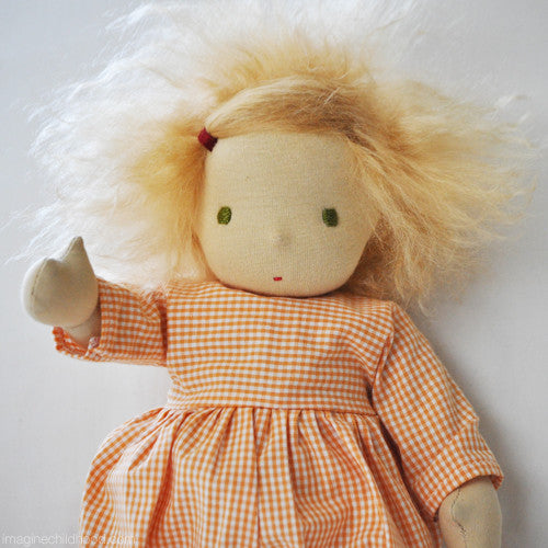 Handcrafted 'Laura' Doll