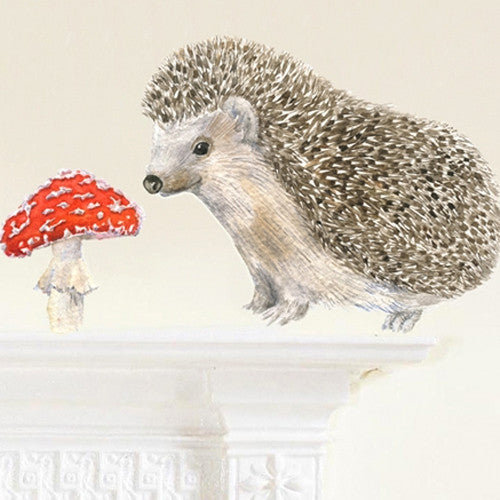 Hedgehog Wall Decal