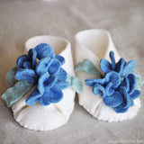 DIY Baby Booties Kit Bluebell