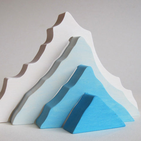 Wooden Iceberg Stacking Blocks