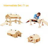 Timberworks Wooden Construction Set