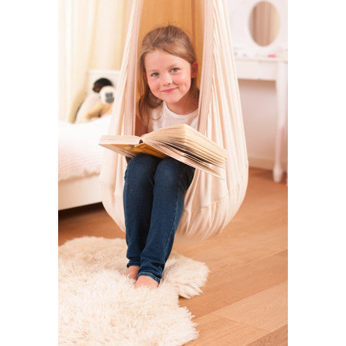 Organic Cotton Hanging Crow's Nest- Hammock Swing