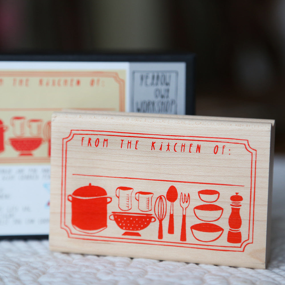 """From The Kitchen of"" Stamp Activity Kit"