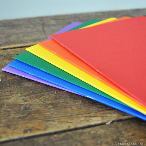 Large Colorful Notebooks