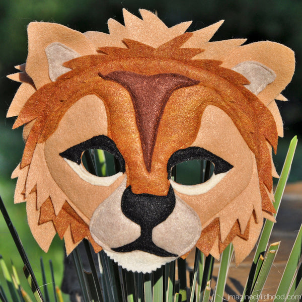 Handmade Lion Eco-Felt Costume