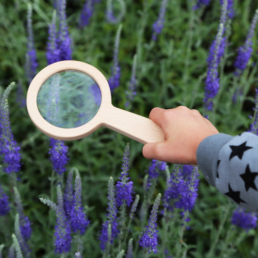 Wooden Magnifying Glass