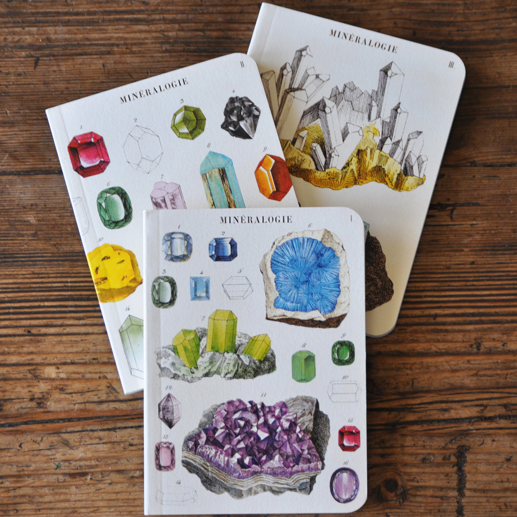 Mineralogy Notebook Set