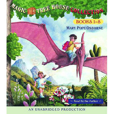 The Magic Tree House: Audio Books 1-8