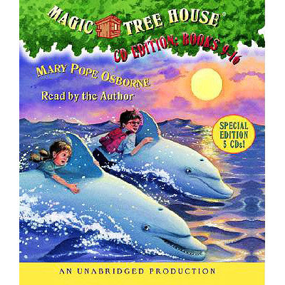 Magic Tree House Collection: Audio Books 9-16