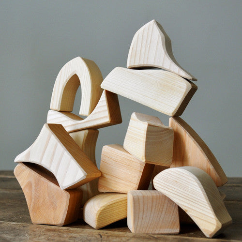Natural Play Blocks