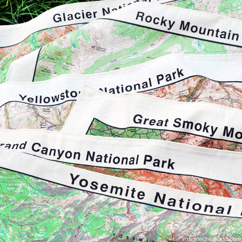 National Parks Bandanas