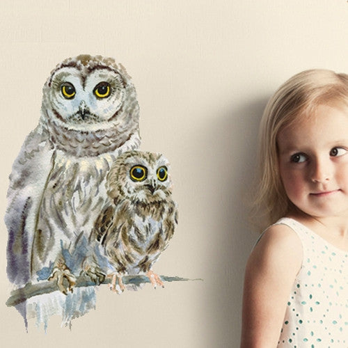 Woodland Owls Wall Sticker