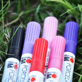 Colored Porcelain Markers