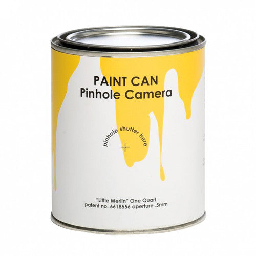 Paint Can Pinhole Camera
