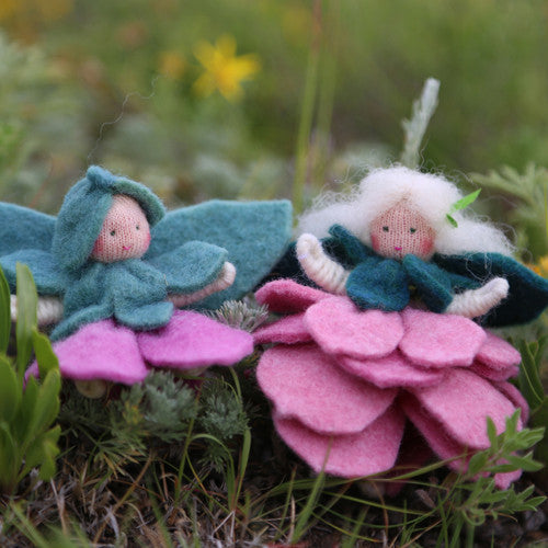 DIY Flower Fairies and Sprites