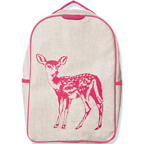 Fawn Eco-Linen Backpack