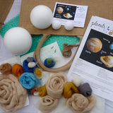 Planets of the Solar System Felting Kit