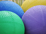 13 Inch Real Rubber Playground Balls
