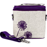 Purple Dandelion Cooler Lunch Bag