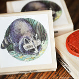 Natural Rubber Animal Stamps
