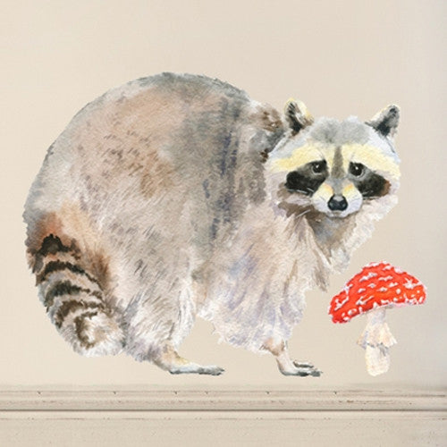 Raccoon Wall Decal
