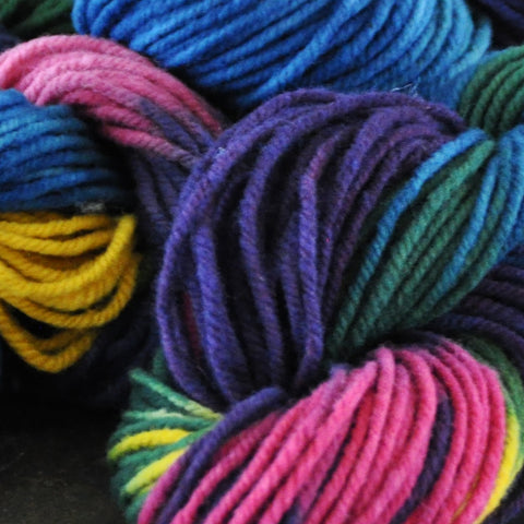 Rainbow Knitting Yarn