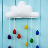 Raindrop Mobile Felting Kit
