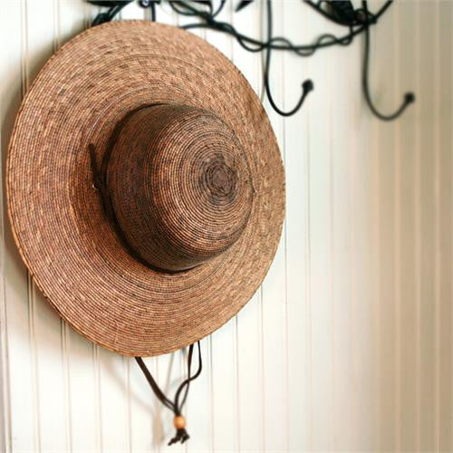 Hand Woven Ranch Palm Hat