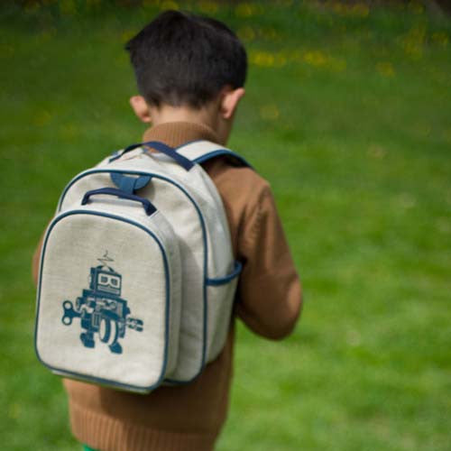 Robot Eco-Linen Backpack