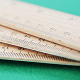 Classic Wooden Ruler