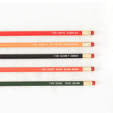 Secret Message Pencils