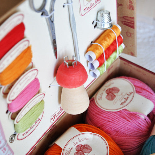 Kids Sewing and Knitting Kit
