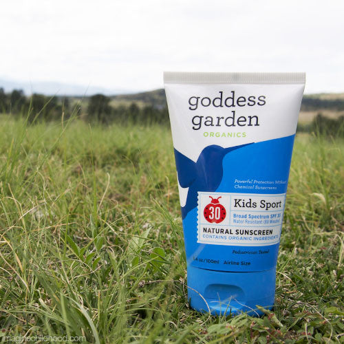Goddess Garden Kids Sport Natural Sunscreen