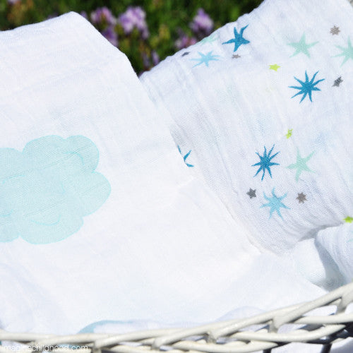 Organic Cotton Swaddle Blankets