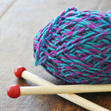 Quick to Knit Scarf Kit