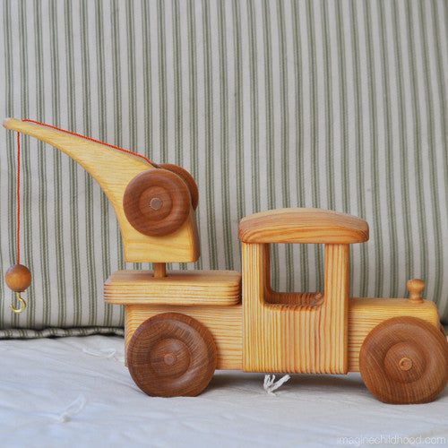 Classic Wooden Tow Truck