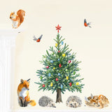 Fir Tree Fabric Wall Sticker