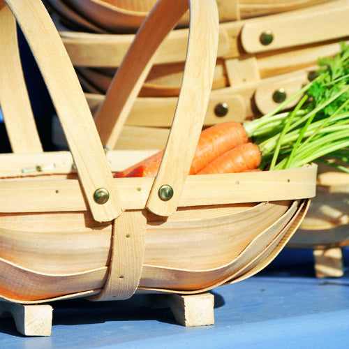 Children's Wooden Garden Trug