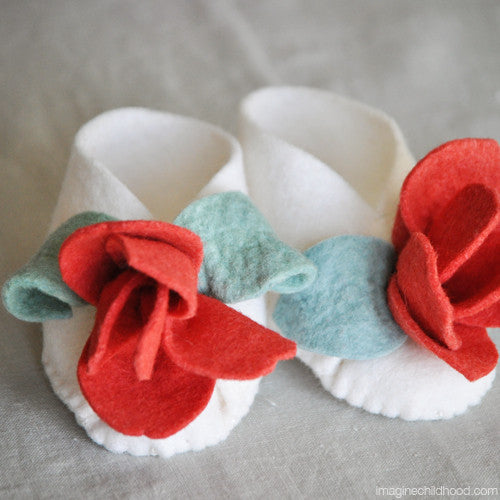 DIY Baby Booties Kit Tulip