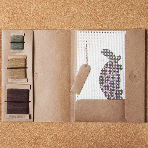 Turtle Needlepoint Kit