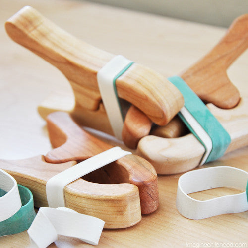 Wooden Play Clips