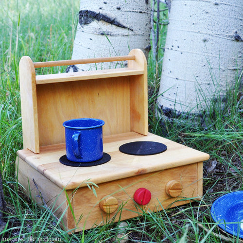 Wooden Camp Stove