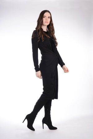 NEW! Boho Chic Midi Velour Dress