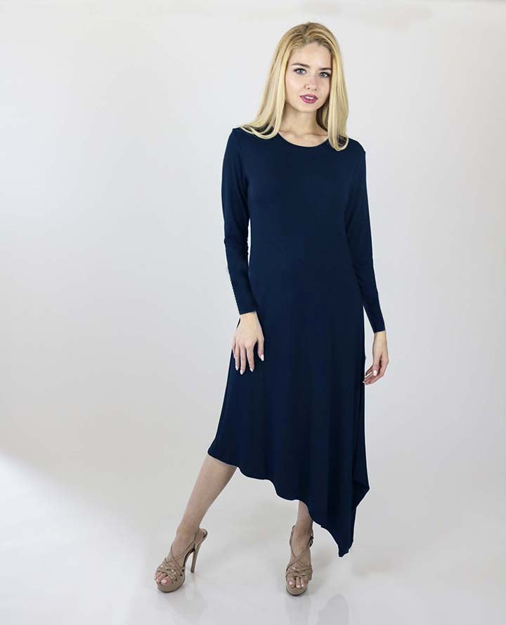 LaDonna Long sleeves Asymmetrical dress