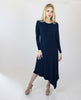 Image of LaDonna Long sleeves Asymmetrical dress
