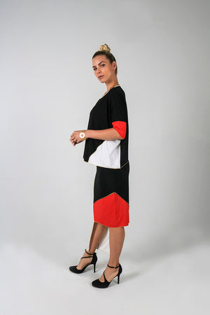 Fumie Skirt - Kintsugi Collection