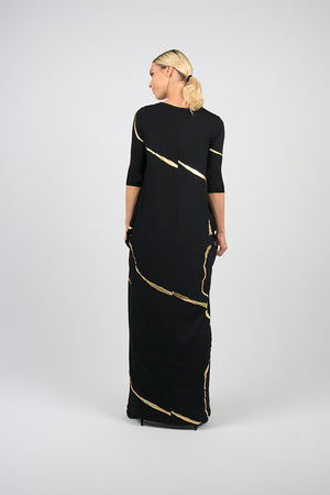 Maxi Boho Chic Dress - Kintsugi Collection