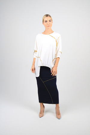 Sachie Skirt - Kintsugi Collection