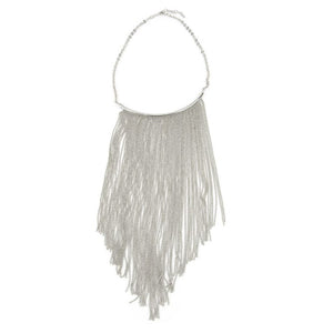 Frange - Fringe statement necklace